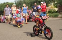 Marley Park patriotic parade