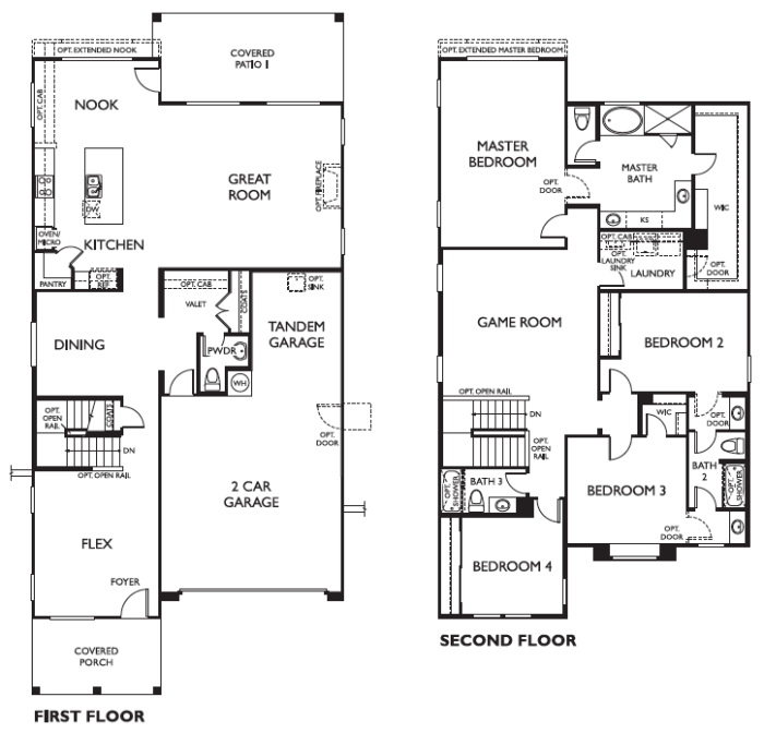 Ashton Woods - Redwood Floorplan