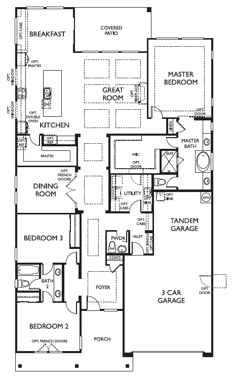 Ashton Woods - Cherry Floor Plan