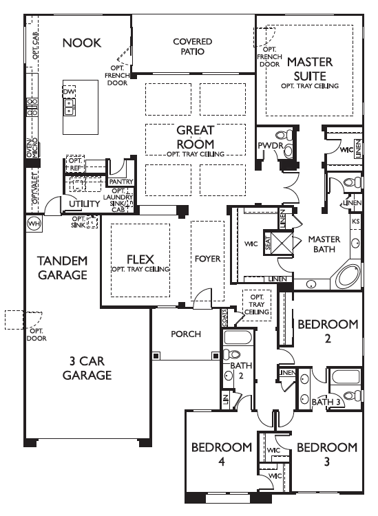 Ashton Woods Dogwood Floor Plan Marley Park
