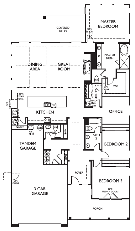 Ashton Woods Laurel Floor Plan Marley Park