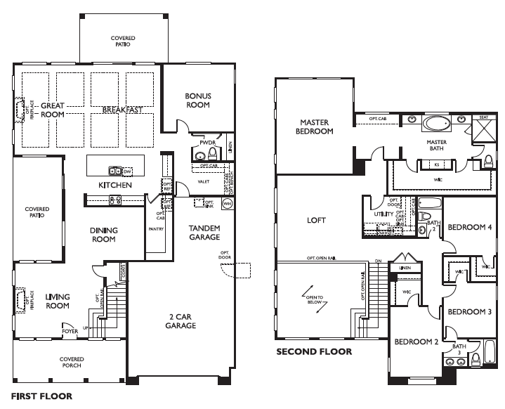 Ashton Woods Sequoia Floor Plan Marley Park